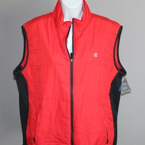 Women's Champion Cold Weather Gear Vest Red Large
